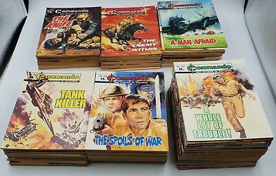 100 Commando Comics Collection Lot #1700 - 1799 High Grade Unbroken Run