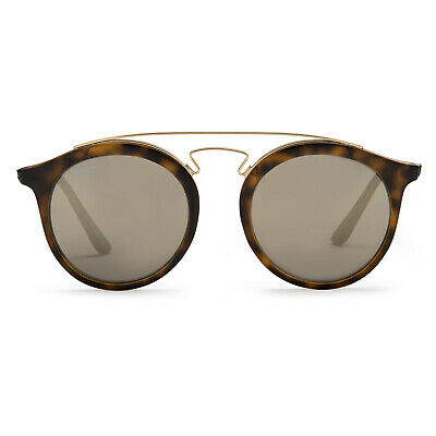 467f03ddcb Ray-Ban RB4256 Gatsby I Sunglasses (Tortoise Brown and Gold Gold Mirror)