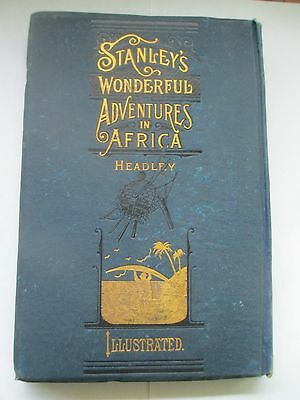 1889 Stanley in Africa Salesman Prospectus Salesman Sample Negro Black Africa !!