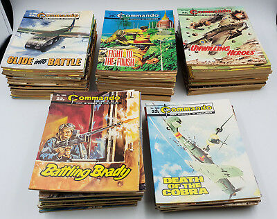Commando Comics Collection Lot #1800 - 1890 High Grade
