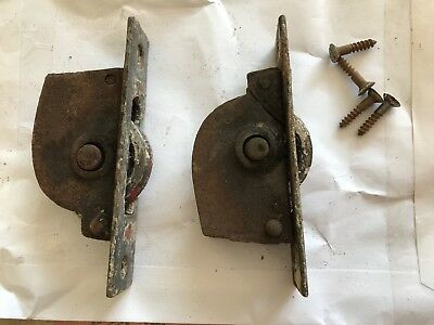 2 Genuine Victorian Sash Window Pulleys