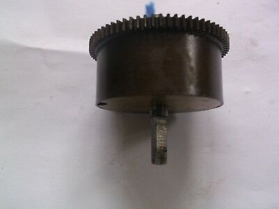 Mainspring Barrel  From An Old British 4X4 Westminster Chime Mantle Clock  Ref 1