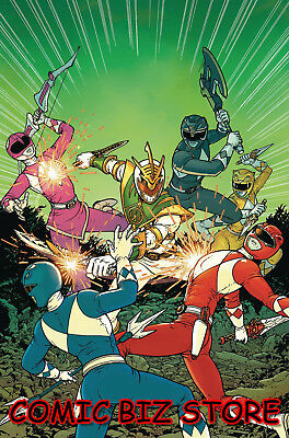 Mighty Morphin Power Rangers Shattered Grid #1 (2018) Scarce 1:10 Variant Cover