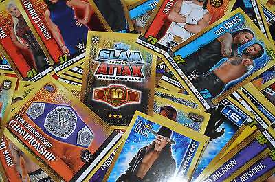 Topps WWE SLAM ATTAX 10th Edition Game | SELECT YOUR > Superstars (81-241) cards
