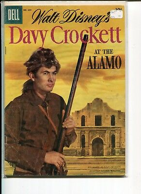 Davy Crockett At The Alamo Fc-639 (No. 2) Vg-Fn  Fess Parker Phoho Cover 1955