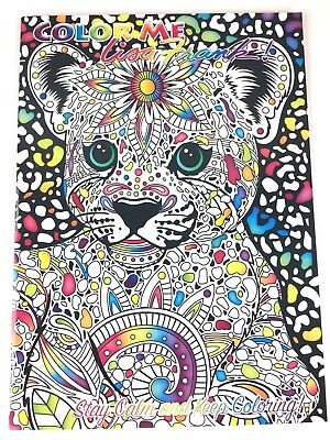 COLOR ME LISA Frank Coloring Book Stay Calm and Kep Coloring 8\