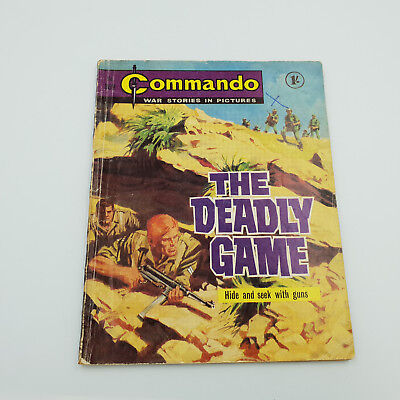 Commando Comic #369 Original Rare Copy From 1968 VG