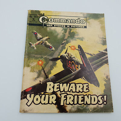 Commando Comic #961 Original Rare Issue From 1974 VG/F