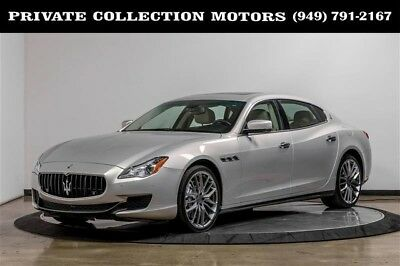 2014 Maserati Quattroporte  2014 Maserati Quattroporte GTS 2 Owner Clean Carfax Low Miles Well Kept