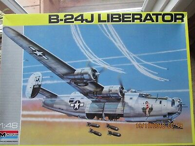 Monogram 1/48J Liberator With Aftermarket Decals