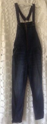 Witchery Size 6. denim stretch overalls0 excellent condition as new
