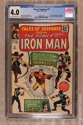Tales of Suspense #57 1964 CGC 4.0 1243611003