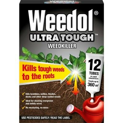 Weedol Ultra Tough, 12 Tubes