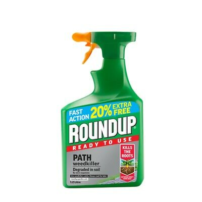Roundup Path Rtu, 1l Plus 20% Extra Free