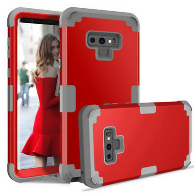 For Samsung Galaxy Note9 Cover Heavy Duty 3-Layers Hybrid Full-Body Protect Case