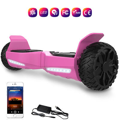 """Gyropode 6.5"""" Scooter Electrique Auto-Equilibré Overboard Tout Terrain Bluetooth"""