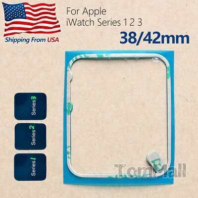 3/6pc LCD Screen Frame Adhesive Sticker Glue For Apple Watch iWatch Series 1 2 3