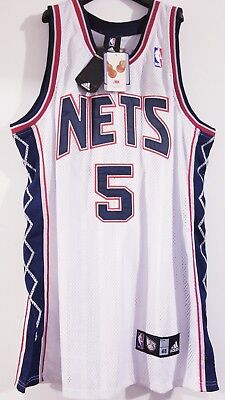 7685472f203d ... promo code for new jersey nets jason kidd jersey size 48 vintage  throwback brooklyn carter rare