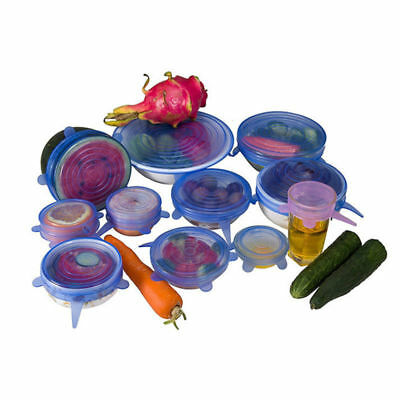 Reusable Food Cover Fresh Sealing Stretch Lid Container Silicone Melbourne Stock