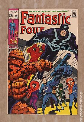 Fantastic Four (1st Series) #82 1969 FN 6.0