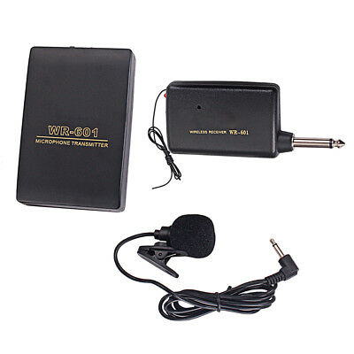 Wireless Headset Microphone Lavalier Lapel Clip Mic System for Conference