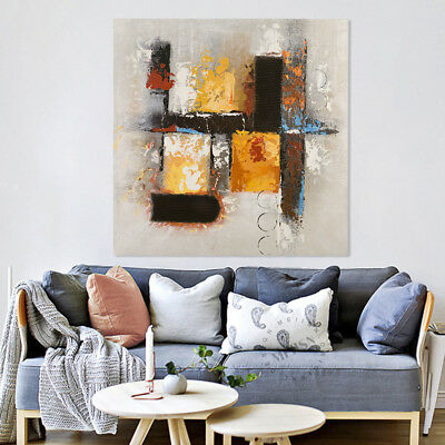Abstract Pattern - Oil Painting on Canvas - Framed Pure Hand Painted Home Decor
