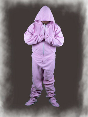 F15*OVERALL Footed Sleeper*Fleece/Langer Strampler onepieces AB ABDL