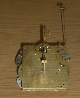 Vintage Franz Hermle wall clock movement for spares