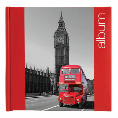 "London Big Ben Design Slip In Photo Album for 200 6x4"" Photos - Travel Gift"