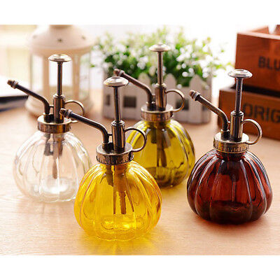 Decorative Glass Water Spray Bottle Vintage Style Small Flower Watering Can