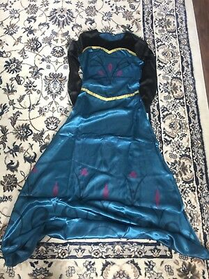 4 x Adult Anna Frozen Coronation Fancy Dress Cosplay Costume Wholesale Job Lot