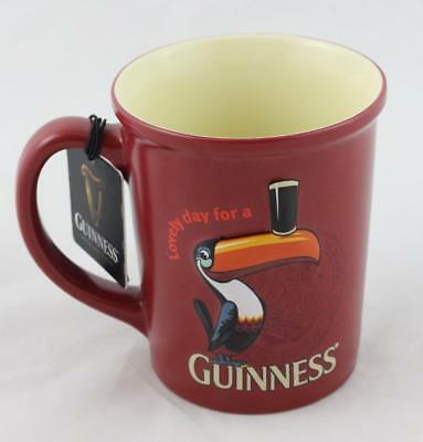 Red Guinness Official Merchandise Mug