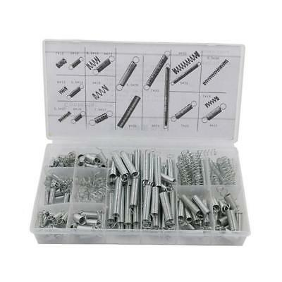 200pcs Assorted Coil Spring Kit Small Metal Loose Steel Springs Assortment Box