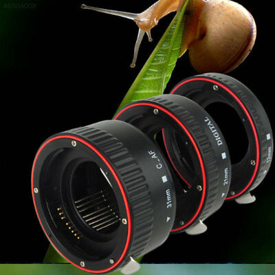 0649 Macro AF Auto Focus Extension Tube Close-Up 13mm/21mm/31mm For Canon EOS