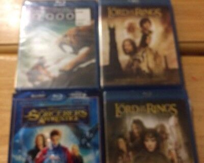BLU-RAY LOT OF 10 MOVIES: horror    some unopened - $24 00