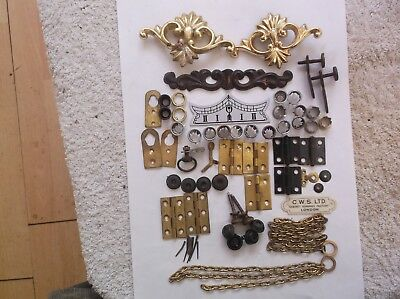 Selection Of Parts  From Old  Clocks Ref Da39