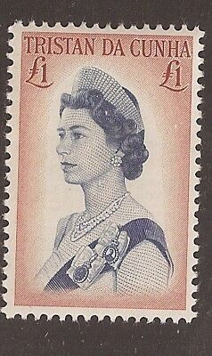 Tristan da Cunha 1965 £1 pound Queen SG 85a Mint Never Hinged MNH   a1816