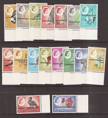 Swaziland 1968 Independence Set Mint Never Hinged MNH   a1814