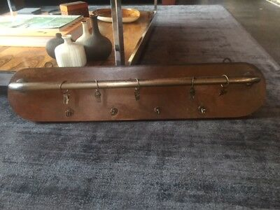 Fantastic Vintage Industrial Shabby Chic Coat Hooks / Kitchen Hooks / Rack ??
