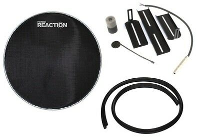 PINTECH ACOUSTIC TO Electronic A2E Drum Dual Trigger Mesh Head Hoop Kit for  16