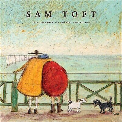 Sam Toft 2019 Official Square Calendar 30 x 30cm