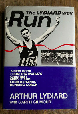 Run the Lydiard Way by Arthur Lydiard hardback Book, vintage book, running book