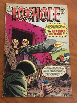 Foxhole #15 Super Comics 1964 VG War