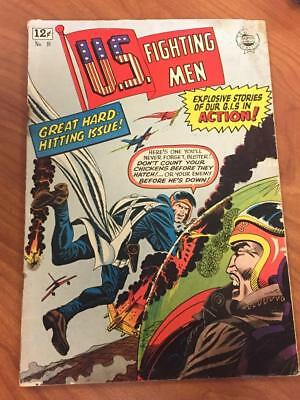 US Fighting Men #18 Super Comics 1964 GD IW War