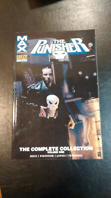 The Punisher Max The Complete Collection Volume 1 TPB Garth Ennis Marvel Comics