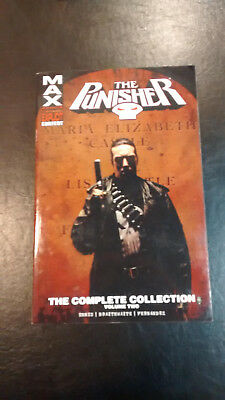 The Punisher Max The Complete Collection Volume 2 TPB Garth Ennis Marvel Comics