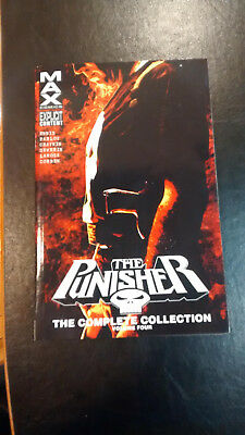 The Punisher Max The Complete Collection Volume 4 TPB Garth Ennis Marvel Comics