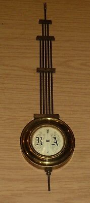 Antique top part for Vienna style wall clock c1880
