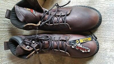 Rocky boots Mens size 8W