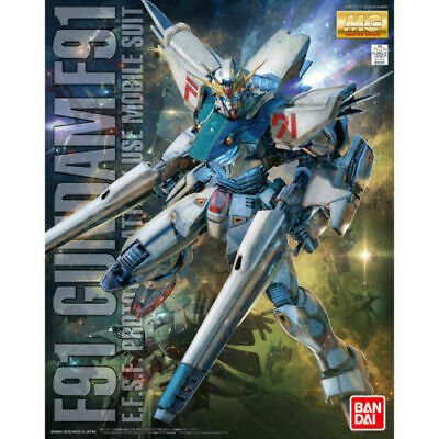 Bandai Hobby GUNDAM F91 Ver. 2.0 Master Grade MG 1/100 Model Kit USA Seller NEW